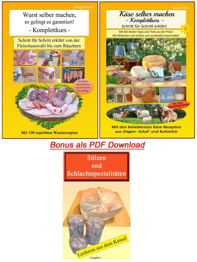 Wurst und Käse Buch